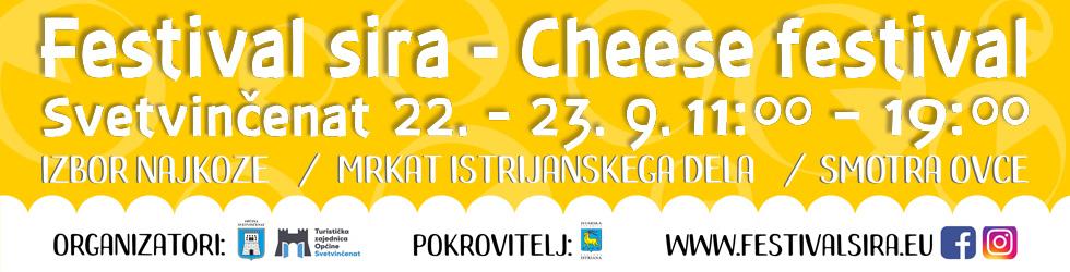 Festival sira Savičenta bilboard